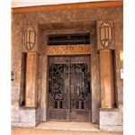 Art Deco Entrance, Casablanca