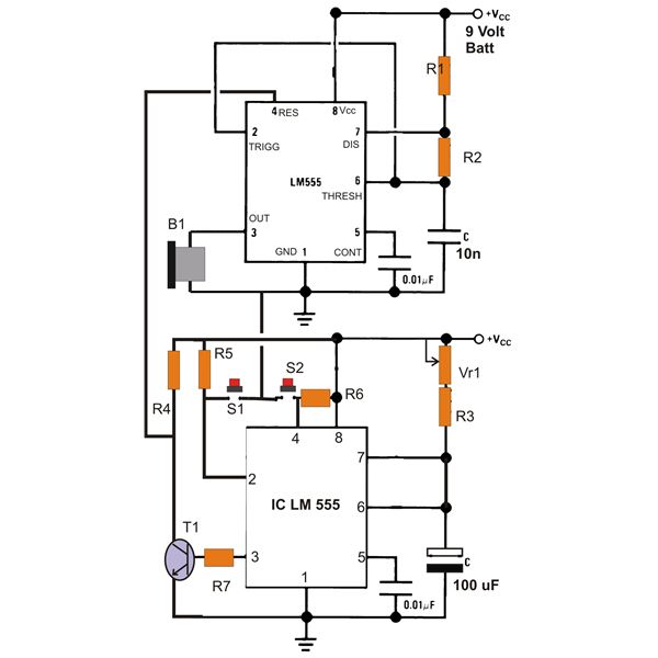 best of 555 timer application circuits explained