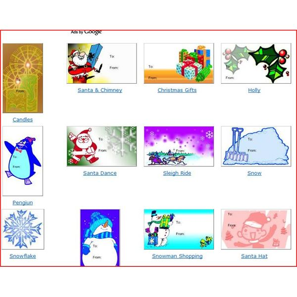 Christmas Gift Templates: Free And Easy Options