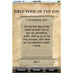 Bible Verse of the Day iPhone App