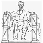 abe-lincoln-coloring-sheets-sitting-in-chair