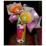 button eggcupflowers