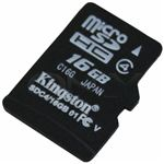 Kingston 16GB MicroSD Memory Card