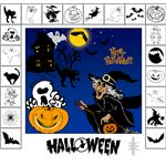 Photoshop Shapes Halloween by mutato nomine