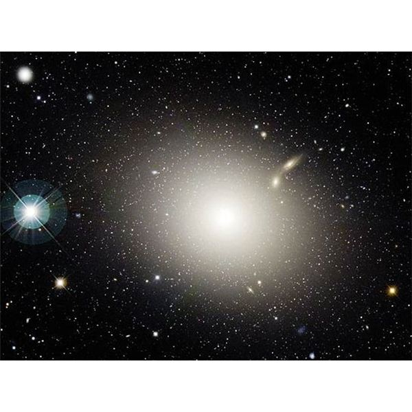 An Elliptical Galaxy Could