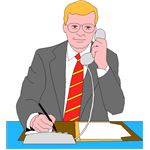 BUSINESSMAN ON TELEPHONE 2