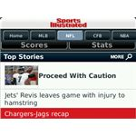 Sports Illustrated SI NFL Apps