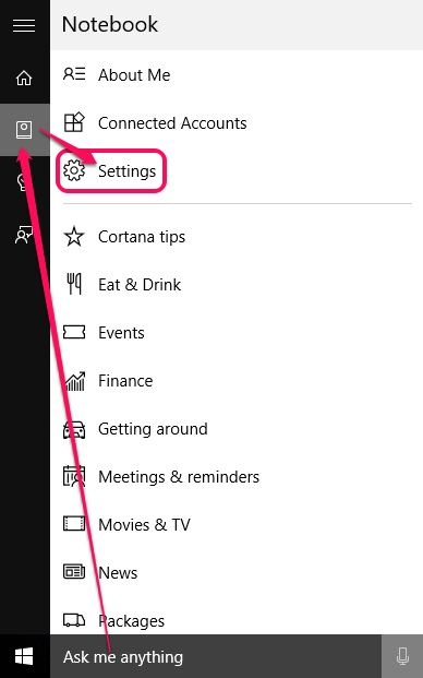 Disabling Only Cortana