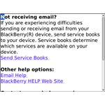 How can I keep my BlackBerry from downloading service books?