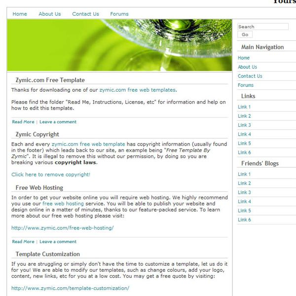 Best free dreamweaver templates for artists for Free php templates for dreamweaver