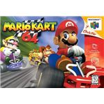 Mario Kart 64 - Original N64 Box Art
