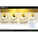 Norton 360 Interface Showing Tuneup Option