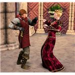 The Sims Medieval couple arguing