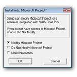 Install Option to Integrate with Microsoft Project