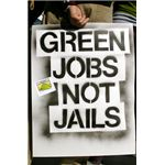 Green Jobs Not Jails, courtesy Brooke Anderson