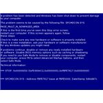 Windows 7 Blue Screen Memory Management