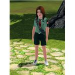 The Sims 3 scouts outfit