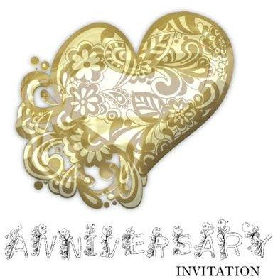 50th wedding anniversary invitations: free printable downloads, Birthday invitations