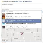 Facebook asks: Where are you?