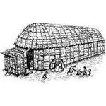 Iroquois Longhouse from Wikipedia