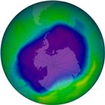 The Hole in the Ozone Layer from Wikipedia by NASA