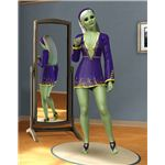 The Sims 3 aliens custom made