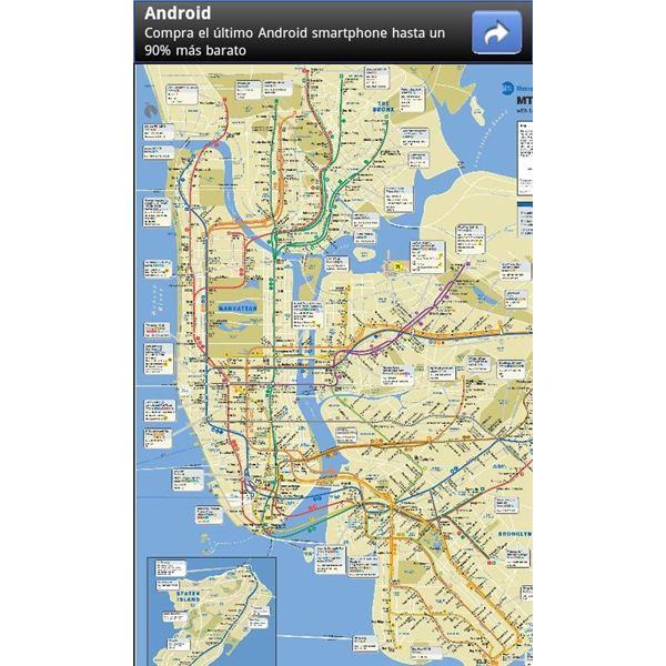 Nyc Bus And Subway Maps