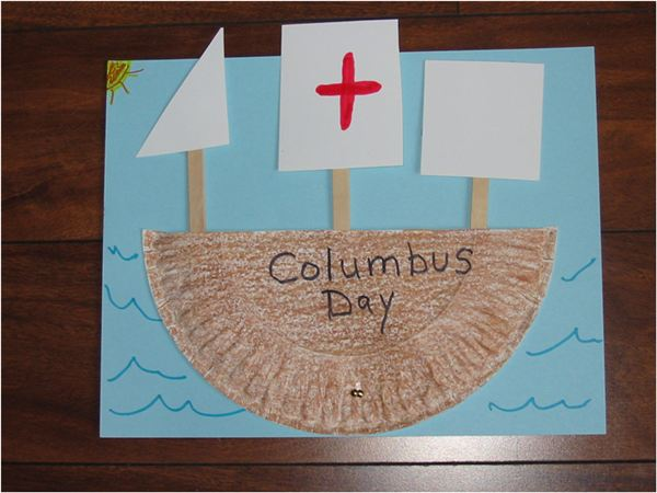 Kindergarten Columbus Day Lesson Plan Ideas