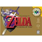 The Legend of Zelda: Ocarina of Time - Original N64 Box Art