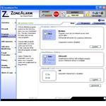 Program Control Window of ZoneAlarm