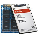 A SanDisk solid state drive