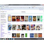 Google Books allows users to search a number of books and magazines.