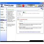 Anti-Virus Monitoring Window of ZoneAlarm