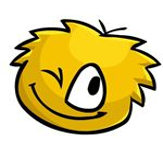 Disney's Club Penguin Yellow Puffle