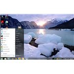 Fig 1 - Windows 7 Themes For Windows XP