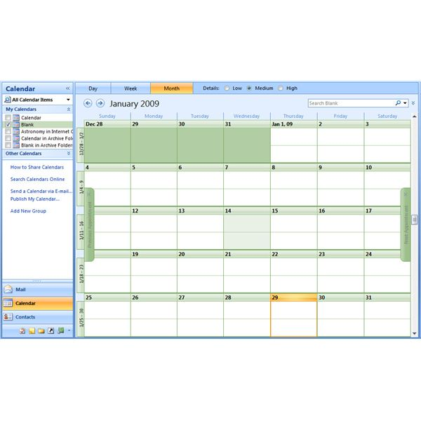 Search results for january 2015 calendar microsoft word for Microsoft outlook calendar templates