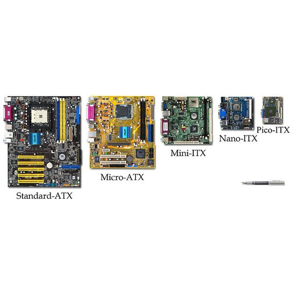 Motherboard Form Factor Comparison From ATX to Nano ITX