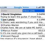 google voice inbox