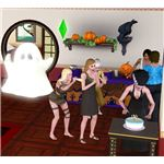 The Sims 3 Halloween Birthday Party