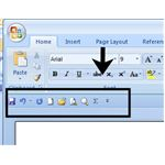 New Location for Toolbar