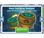 The Sims Social Haunted Cauldron