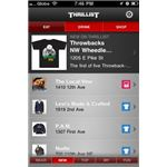 Thrillist iPhone App Screen 1