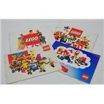 Vintage Lego Catalogs Bound With Staples