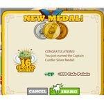 captain curdler silver medal