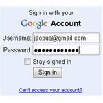 Sign-In with your Gmail ID and Password