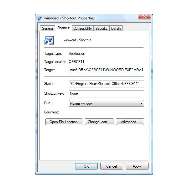 how to find recent word documents windows 7