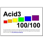 Acid3 - First fully compliant browser!