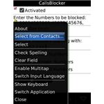 Add contacts to CallsBlocker