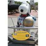 Snoopy athe the Kennedy Space Center