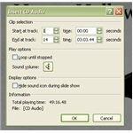 Insert CD Audio